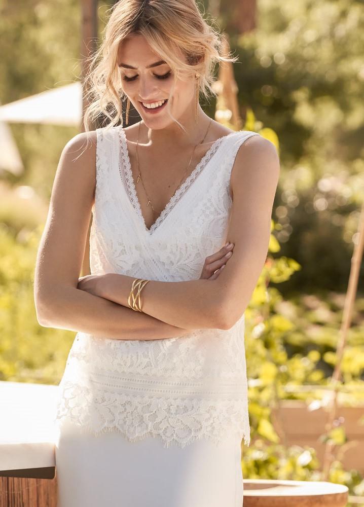Robes de mariée bohème à Béziers, proche de Montpellier, Narbonne, Perpignan, Nimes, Rodez, Millau, Castres, Carcassonne