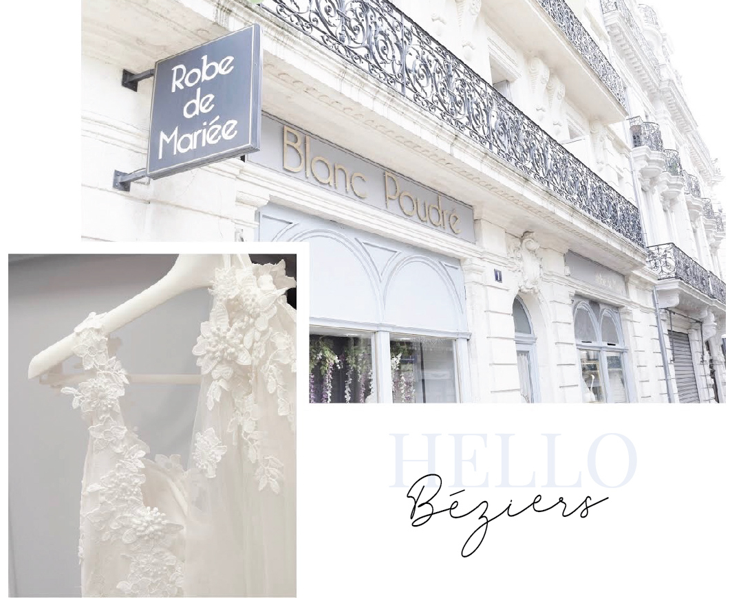 Robes de mariée Béziers